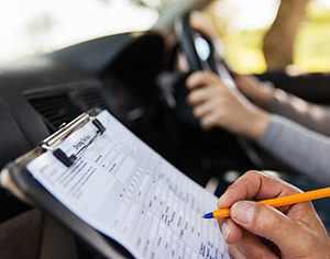 what you need to take drivers permit test